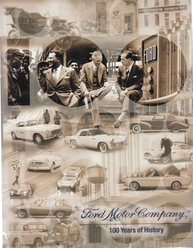Ford Motor Company: 100 Years of History (book + disc)