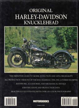Original Harley-Davidson Knucklehead (9780760310618)  - back