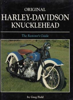 Original Harley-Davidson Knucklehead (9780760310618) - front