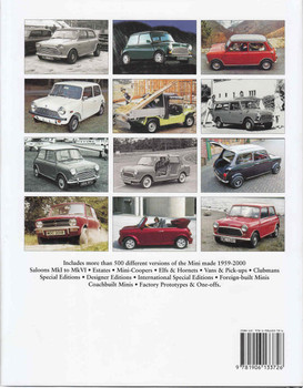 The Complete Catalogue Of The Mini (9781906133726)  - back