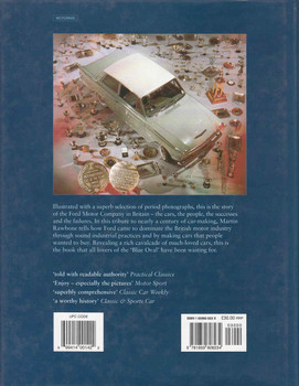 Ford In Britain: A History Of The Company And The Cars (9781859608234) - back