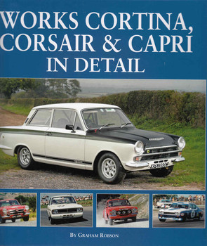 Works Cortina, Corsair & Capri In Detail ( 9781906133719)