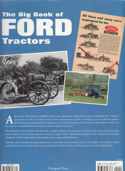 The Big Book Of Ford Tractors: The Complete Model-By-Model Encyclopedia (9780760326367) back