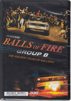 Riding Balls of Fire Group B: The Wildest Years of Rallying DVD