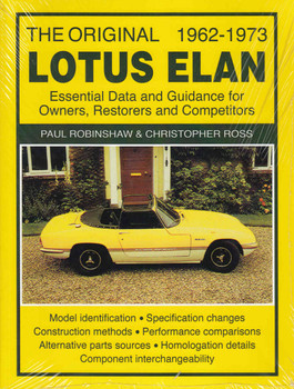 The Original Lotus Elan 1962 - 1973 (Revised Brooklands Edition) (9781783180004)