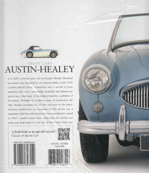 Austin-Healey: A celebration of the fabulous 'Big Healey' - Veloce Classic Reprint Series (9781845848552) - back