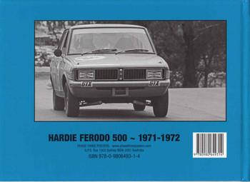 Hardie Ferodo 500 1971 - 1972 A Photographic History (9780980649314) -back