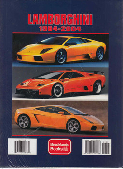 Lamborghini 1964 - 2004: Celebrating 40 Years of Lamborghini Cars (A Brooklands Portfolio) (9781855206496)