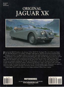 Original Jaguar XK: The Restorer's Guide (Paperback Edition) (9780760317372) = back