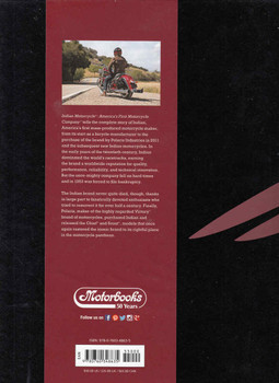 Indian Motorcycle: America's First Motorcycle Company (9780760348635) - back