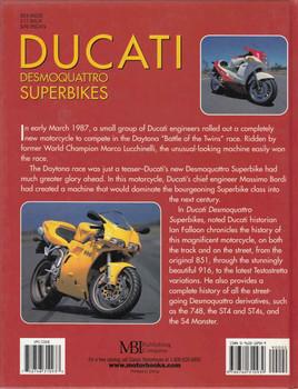 Ducati Desmoquattro Superbikes (9780760310939) - back