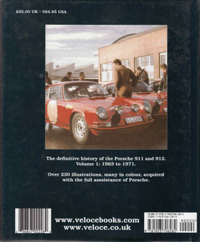 Porsche 911: The Definitive History 1963 to 1971 (9781903706282) - back