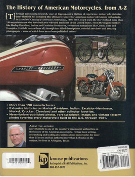 Standard Catalog Of American Motorcycles 1898 - 1981 (9780873499491) - back