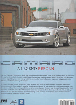 Camaro: A Legend Reborn (9780760328194) - back