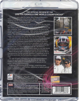 Formula One 2016 Offiicial Review - They Did Their Best Bluray  - back