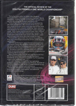 Formula One 2016 Official Season Review DVD (5017559128654 ) - back