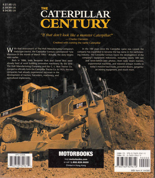 The Caterpillar Century ( Paperback Edition) (9780760329610) - back