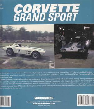 Corvette Grand Sport (Paperback Edition) (9780760319260) - back