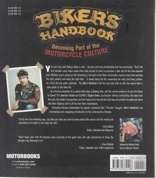 Biker's Handbook: Becoming Part Of Motorcycle Culture (9780760332108) - back