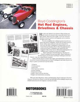 Boyd Coddington's Hot Rod Engines, Drivelines & Chassis (9780760322659) - back