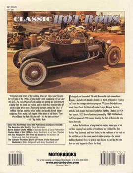 Classic Hot Rods (Bo Bertilsson) (9780760307212) - back