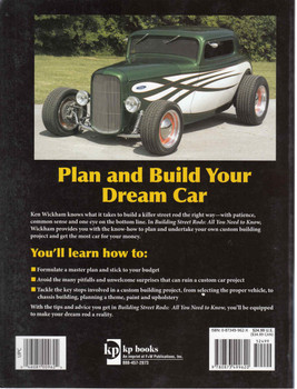 Building Street Rods: All You Need To Know (9780873499620) - back