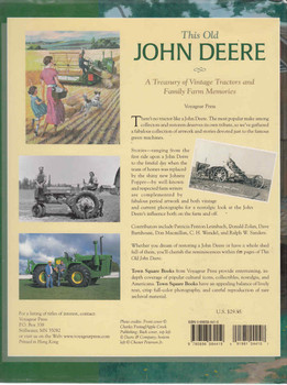 This Old John Deere: A Treasury Of Vintage Tractors And Family Farm Memories (9780896584419) - back