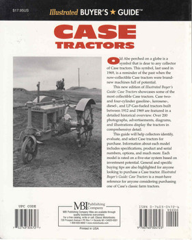 Case Tractors: Illustrated Buyer's Guide - Second Edition (9780760304723) - back