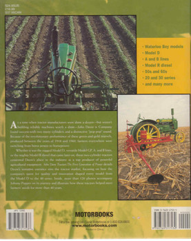 John Deere Tractors: The First Generation Of Power back