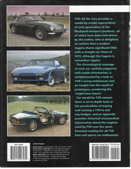 TVR : All The Cars - A Model - By - Model History Of TVR (9781844251001) - back