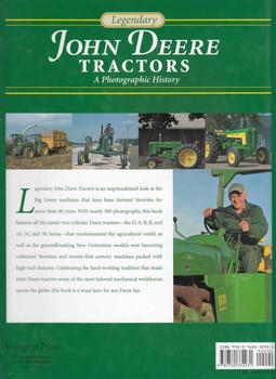 Legendary John Deere Tractors: A Photographic History (9780760332931) - back