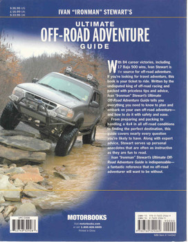 "Ivan ""Ironman"" Stewart's Ultimate Off-Road Adventure Guide (9780760329269) - back"