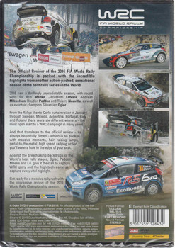 WRC FIA World Rally Championship 2016 DVD (5017559128432) - back