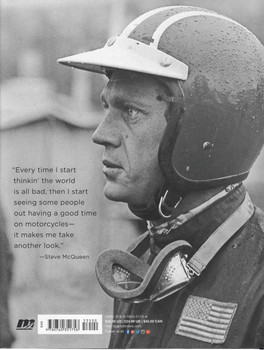 McQueen's Motorcycles: Racing And Riding With The King Of Cool (9780760351758) - back