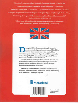 British Car Advertising Of The 1960s - Paperback Edition (9781476667898) - back