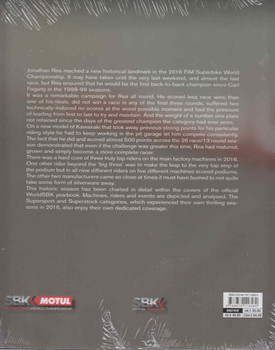 Superbike The Official Book 2016 - 2017 (9788879116589) - back