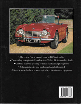 Original Triumph TR: The Resorer's Guide to TR2, TR3, TR3A, TR3B, TR4, TR4A, TR5, TR250, TR6 (9781906133689) - back