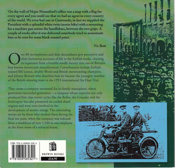 Royal Enfield: The Story Of The Company And The People Who Made It Great 1851-1969 (9781858585321) - back