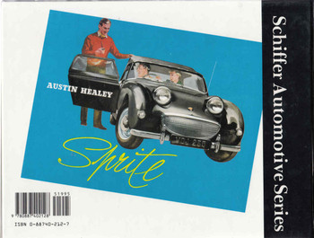 Austin-Healey 1953 - 72 Schiffer Automotive Series (9780887402128) - back