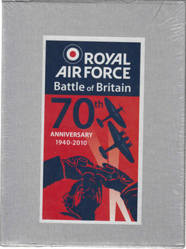 Royal Air Force Battle Of Britain 70th Anniversary 1940-2010 (3 Books in Slipcase) (9780857330543)