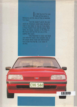 A History Of The Ford Motor Company In Australia (Paperback Edition) (9780730201137)