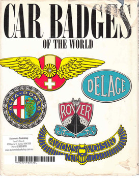 Car Badges Of The World - Tim Nicholson (9780304933433)