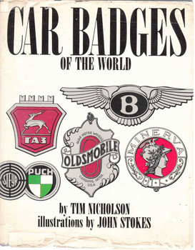 Car Badges Of The World - Tim Nicholson (9780304933433)