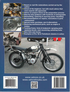 How To Restore Classic Off-Road Motorcycles: Majors on off-road motorcycles from the 1970s & 1980s, but also relevant to the 1950s & 1960s machines (Enthusiast's Restoration Manual Series) (9781845849504)