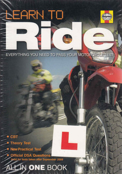 Learn To Ride: Everything You Need To Pass Your Motorcycle Test (9781844255603)