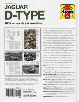 Jaguar D-Type 1954 onwards (all models) Owners' Workshop Manual (9781785210785)
