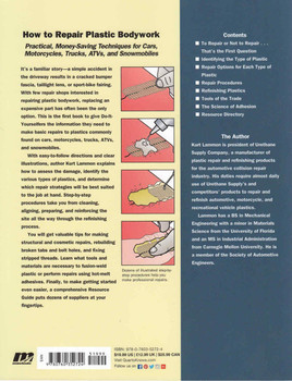 How To Repair Plastic Bodywork - Reprint ( 9780760352724)
