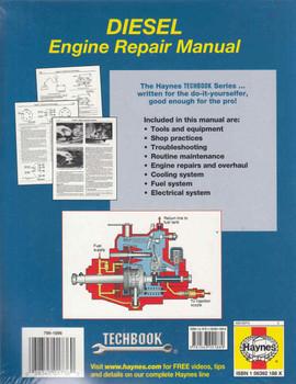 Haynes Diesel Engine Repair Manual (Techbook Series) (9781563921889)