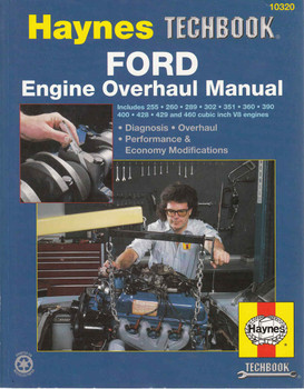 Ford Engine Overhaul Manual (Techbook Series) (9781850107637)