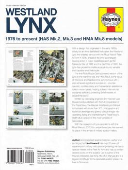Westland Lynx: 1976 to present (HAS Mk.2, Mk3 and HMA Mk.8 models) Owners' Workshop Manual (9780857338143)